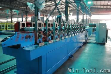 Pipe Support Profile Roll Forming Machine